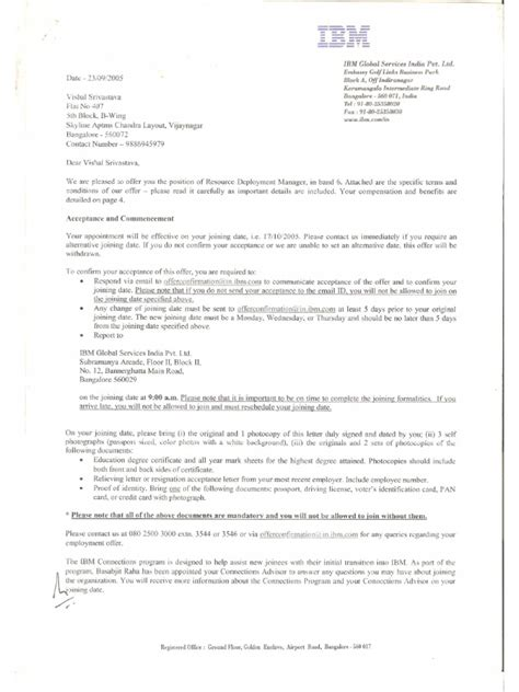 Employment Reference Letter Germany India Employment Offer Letter Legal Forms