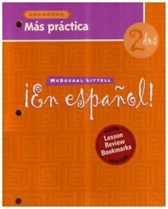 Read Books En Espanol: Level 2 Mas Practica Cuaderno Online