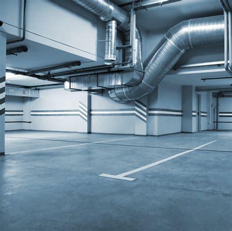 Enclosed Parking Garage Ventilation Design