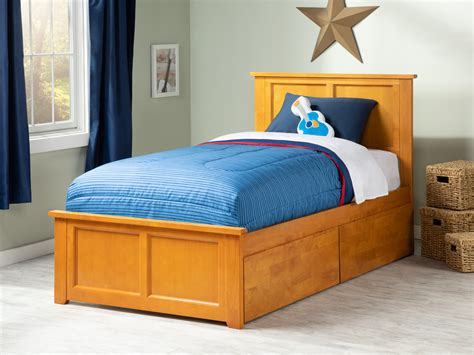 Endurance Extra-Long twin Storage Platform Bed by Cortech USA