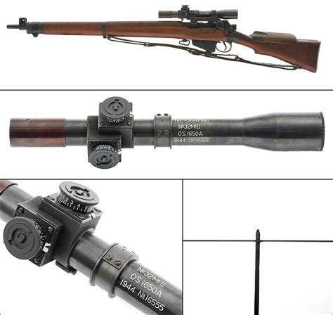 Rifle-Scopes Enfield Sniper Rifle Scope.