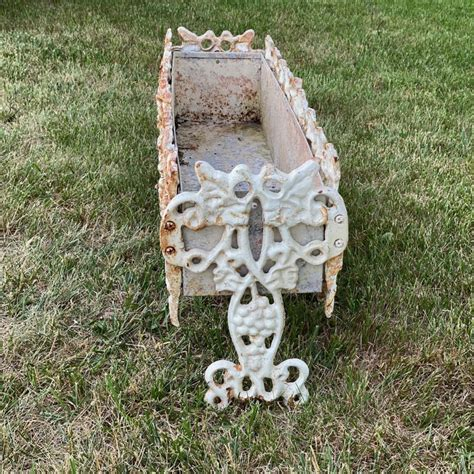 english wrought iron planter boxes