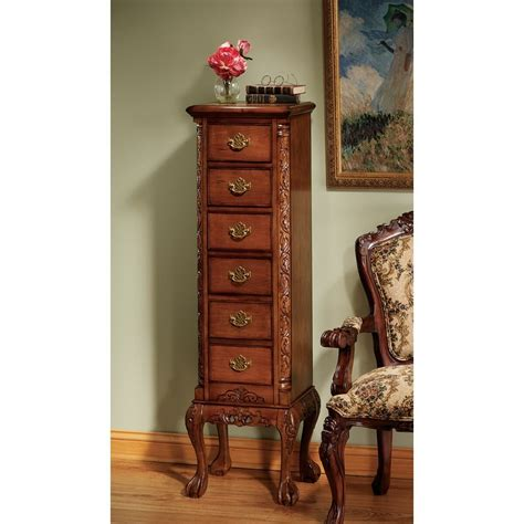 English Chippendale 6 Drawer Tallboy
