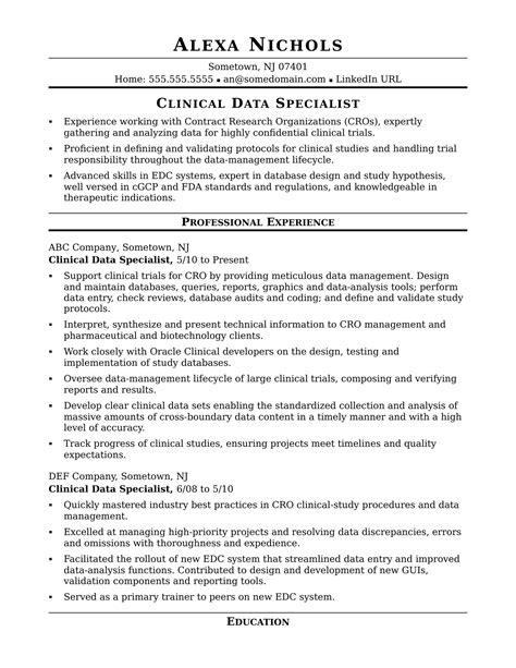 sample data entry cover letter resume