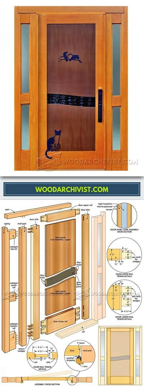 Entry Door Woodworking Plans