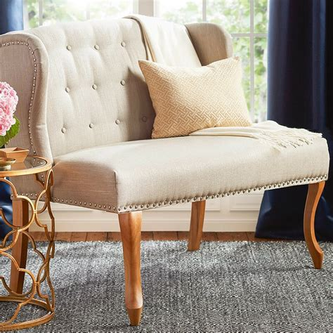 Epone Upholstered Bench