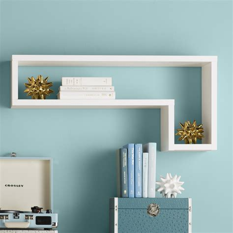 Erica L-Shaped Floating Shelf