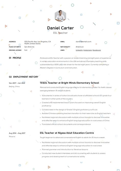 esl resume cover letter examples write a winning esl teacher cover letter example for - Esl Teacher Cover Letter