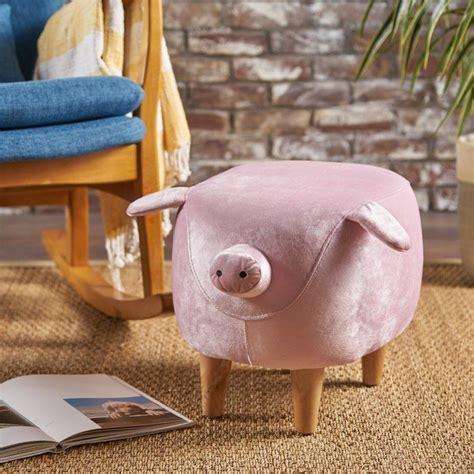 Esmond Pig Ottoman