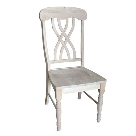 Espy Lattice Back Solid Wood Dining Chair (Set of 2)