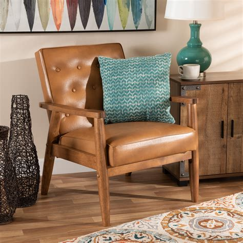 Eugene Contemporary Faux Leather Bench