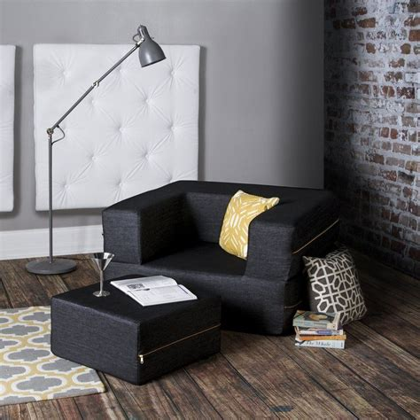 Eugene Convertible Chair and Ottoman