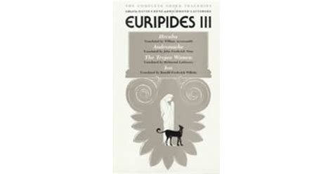 Read Books Euripides III: Hecuba / Andromache / The Trojan Women / Ion (Complete Greek Tragedies, #7) Online