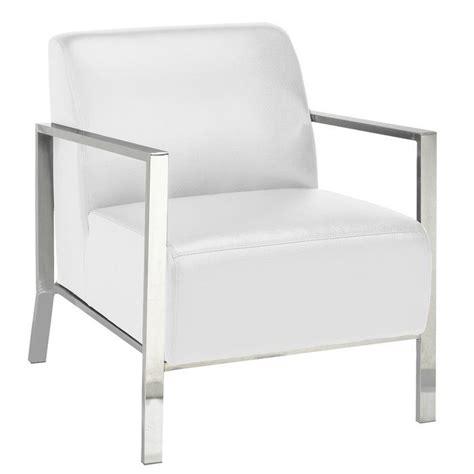 Evangeline Stainless Steel Frame Armchair