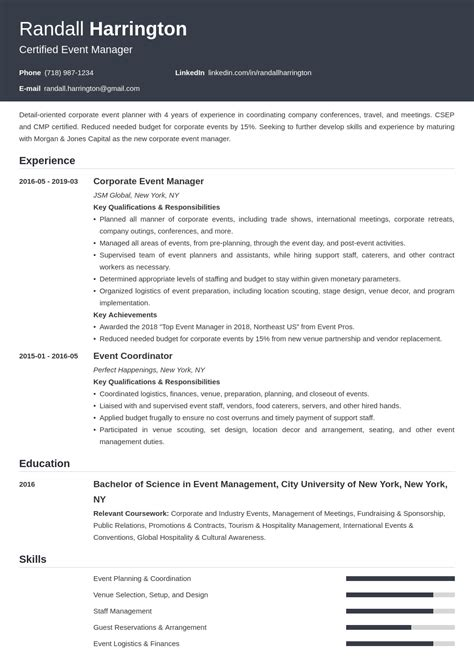 sample resume of event manager in india event manager resume best sample resume. Resume Example. Resume CV Cover Letter