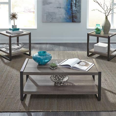 Everette Louison 3-Piece Coffee Table Set
