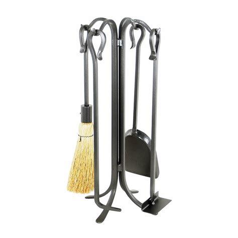 Everson 4-Piece Fireplace Set