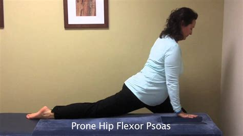 exactly where is the hip flexor muscles iliopsoas stretch