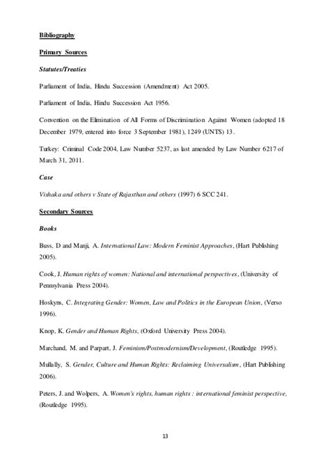 essay bibliography example