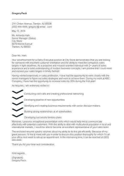 example executive secretary resume executive cover letters sample executive cover letter
