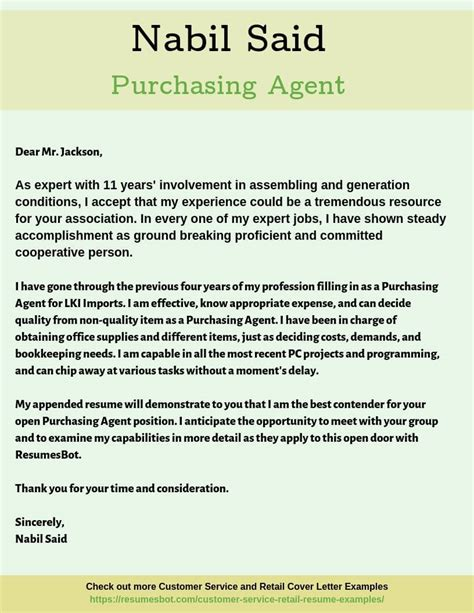 Example Of Cover Letter Public Relations Procurement Cover Letter Sample Procurement Cover Letter