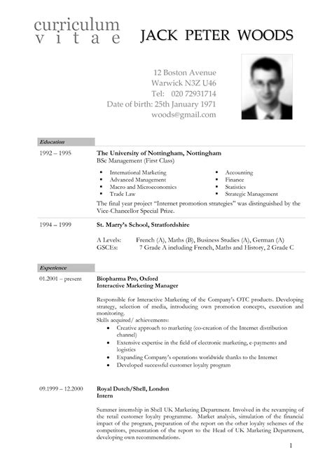 example resume american style preparing an american style resume alliance exchange