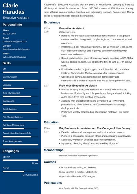 example achievements for resumes