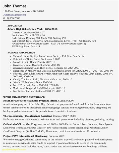 example resume after first job cover letter samples executive