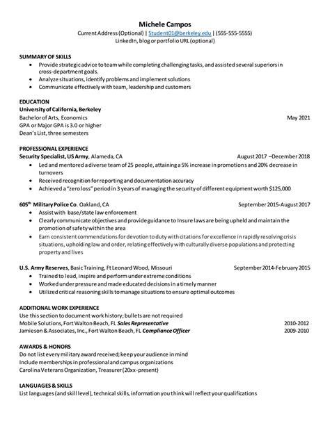 example veteran resume military veteran resume sample resume my career