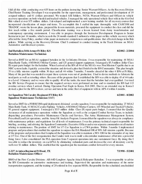 stunning warrant officer resume pictures simple resume office