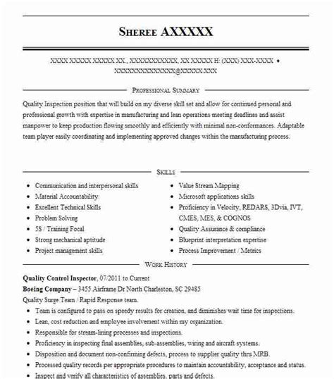 Quality Control Resume  Occupational examples samples Free edit     Supply Chain Management Resume Template Chain Manager Cover Letter