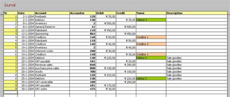 Excel Accounting Template Download Download Free Accounting Templates In Excel