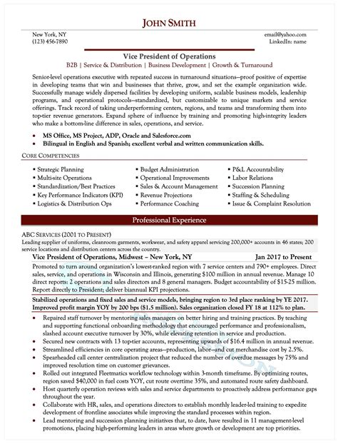 executive it resume template executive resume tips to effectively write your resume - It Resume Tips