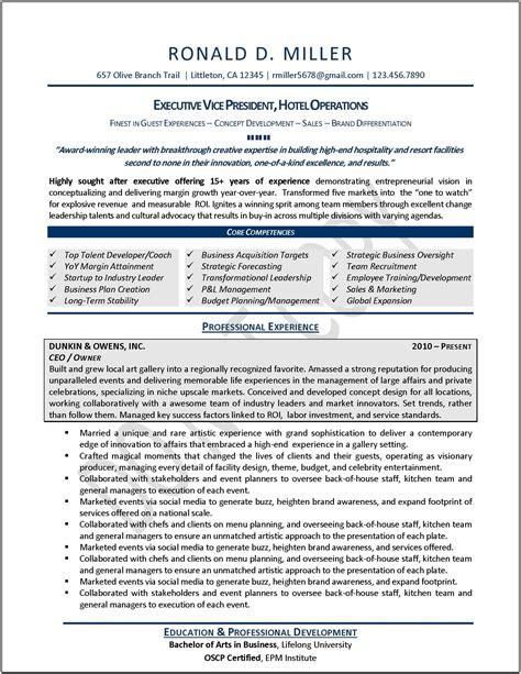 Executive Resumes Samples Free Executive Resume Samples Professional Resume Samples
