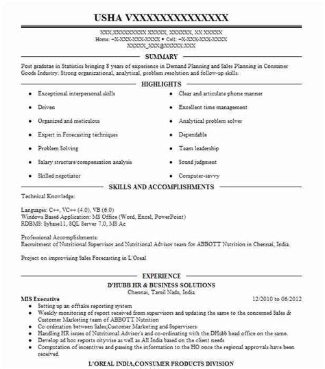 executive summary for resume examples examples of a job resume
