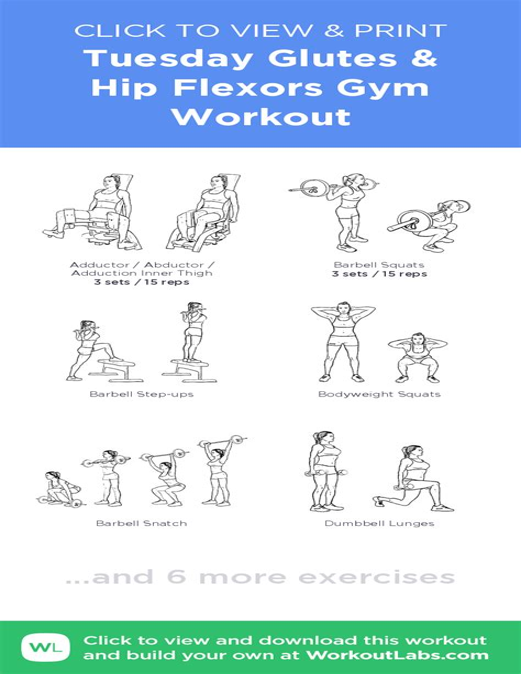 exercise for hip flexor stretches pdf creator
