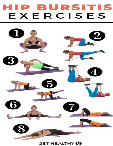 exercises for hip bursitis treatment