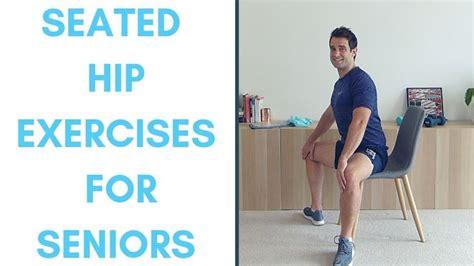 exercises for hip flexors for seniors