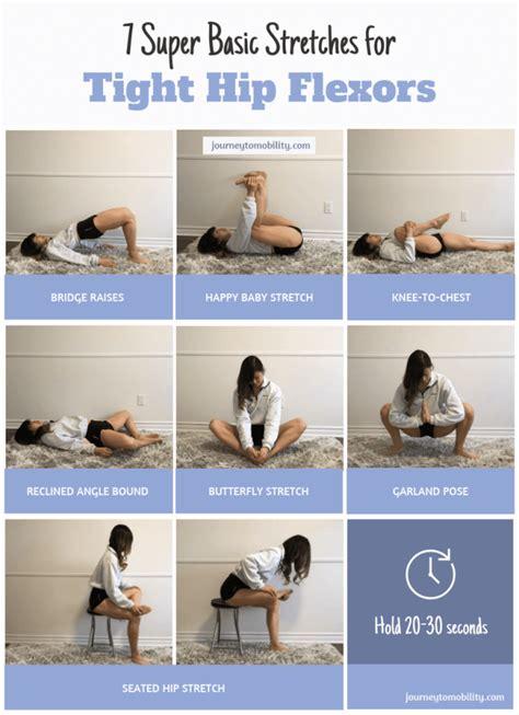 exercises for tight hip flexors p roses major
