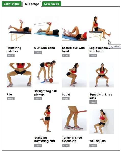 exercises for weak glutes and hamstrings exercises physical therapy