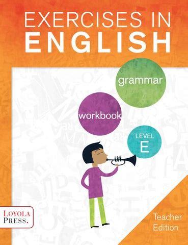 exercises in english level e
