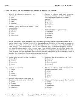 exercises in english level f pdf