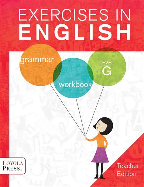 exercises in english level g teacher guide