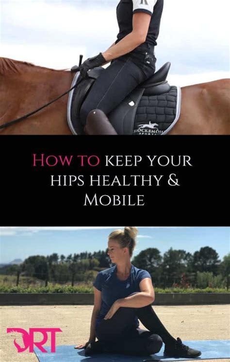 exercises to open hip flexors dressage horses