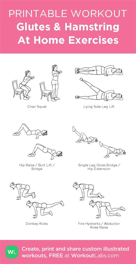 exercises to work hamstrings at home
