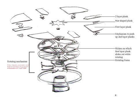 Expandable Round Table Plans