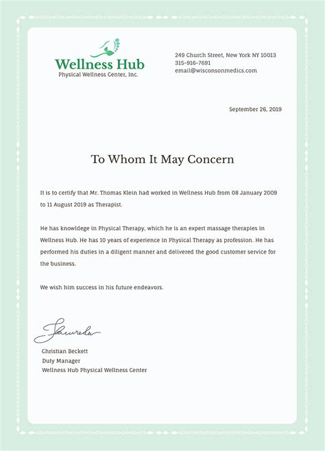 Experience Certificate Letter Sample Word Format Employee Experience Certificate Template Microsoft Word