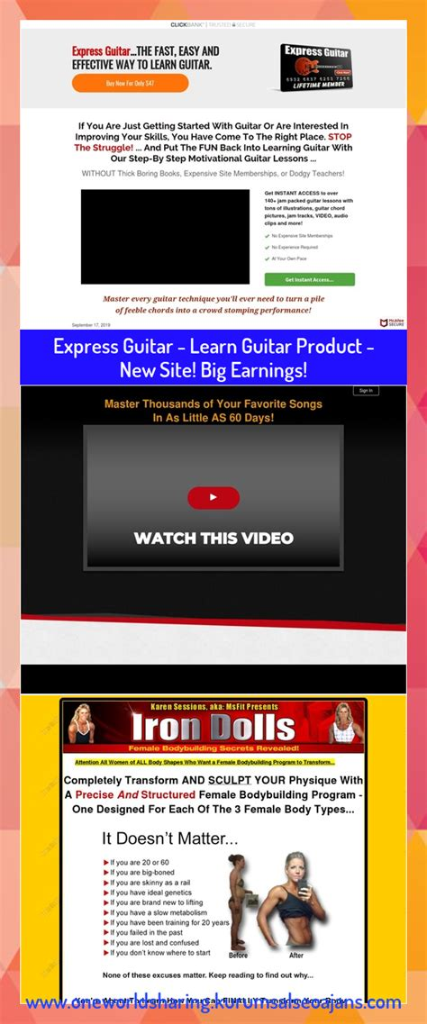 [click]expressgtr - Express Guitar - Learn Guitar Product - New .
