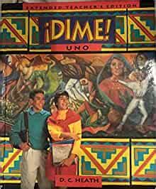 Read Books Extended Teacher's Edition DIME UNO Online