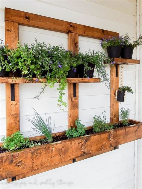 exterior wall planters